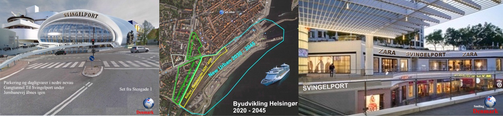 Udvikling af Svingelport Helsingør